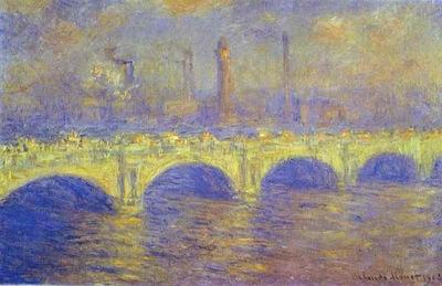 Claude Monet The Waterloo Bridge