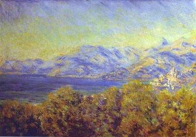 Claude Monet Ventimiglia