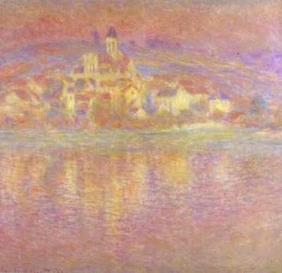 Claude Monet Vetheuil, Setting Sun