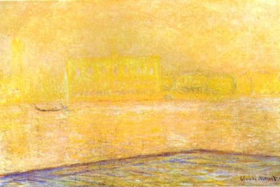 Claude Monet View of the Doge Palace from San Giorgio