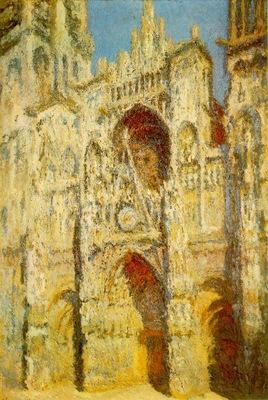 Monet La cathedrale de Rouen, le portail et la tour Saint Ro
