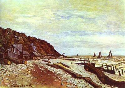 Monet Shipyard near Honfleur