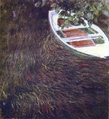 Monet The Boat