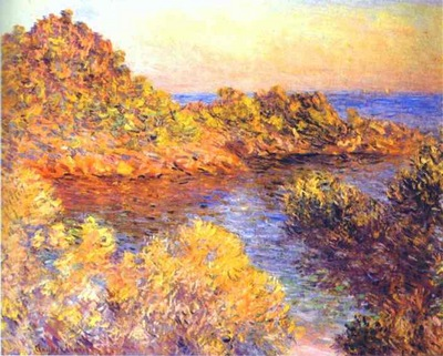 Monet The Cape Martin