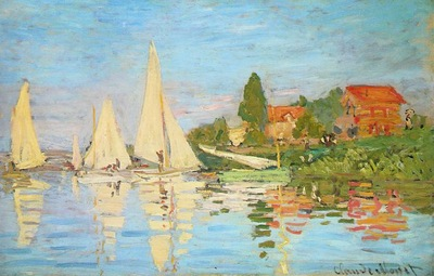 Monet The Regatta at Argenteuil