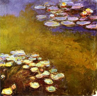monet water lilies c