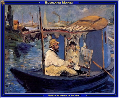 PO Vp S2 34 Manet Monet working in his boat
