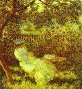 Claude Monet Alice Hoschede in the Garden