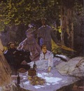 Claude Monet Dejeuner sur lherbe The Picnic