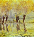 Claude Monet Flood at Giverny