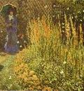 Claude Monet Gladioluses