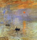 Claude Monet Impression; Sunrise