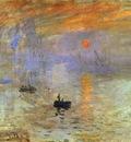 Claude Monet Impression; Sunrise