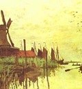 Claude Monet Mill near Zaandam