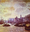 Claude Monet The London Harbour
