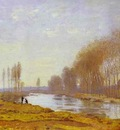 Claude Monet The Petite Bras of the Seine at Argenteuil