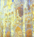 Claude Monet The Rouen Cathedral at Twilight