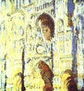 Claude Monet The Rouen Cathedral  Portail  The Albaine Tower