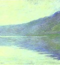 Claude Monet The Seine at Port Villez  The Harmony in Blue