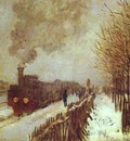 Claude Monet The Train in the Snow