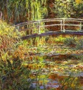 Claude Monet The Water Lily Pond; Pink Harmony