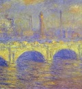 Claude Monet The Waterloo Bridge