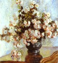 Claude Monet Vase with Flowers