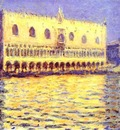 Claude Monet Venice  The Doge Palace