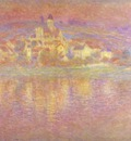 Claude Monet Vetheuil, Setting Sun