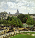 Monet Claude The garden of the infante Sun