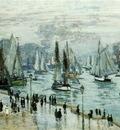 Monet Fishing Boats Leaving the Harbor, Le Havre, 1874, 60x1