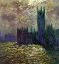 Monet Houses of Parliament, London, 1905, 81x92 cm, Musee Ma