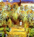 Monet Monets Garden at Vetheuil