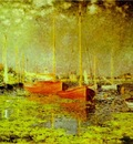 Monet Red Boats, Argenteuil