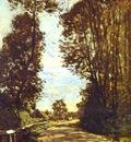 Monet Road to the Saint Simeon Farm
