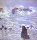 Monet Storm, Coast at Belle Ile