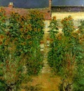 Monet The Artists Garden at Vetheuil