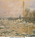 Monet The Break up of the Ice