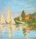 Monet The Regatta at Argenteuil
