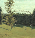 Monet Train in the Country, 1870, oil on canvas, Musee dOrs