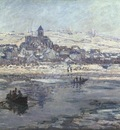 Monet Vetheuil in Winter, 1878 or 1879, 68x89 4 cm, Frick co