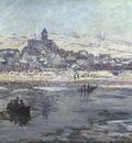 Monet Vetheuil in Winter, 1878 or 1879, 68x89 4 cm, Frick co