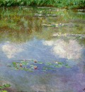 Monet Water lilies The clouds , 1903, 74 6 x 105 3 cm, Priv