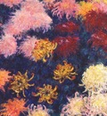 monet chrysanthemums