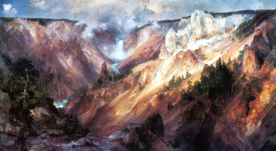 JLM 1893 Thomas Moran Grand Canyon of Yellowstone 1400x768