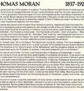 SDC 05 Thomas Moran 1837 1926 Text