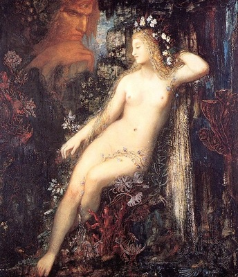 Moreau, Gustave Galatea detail end