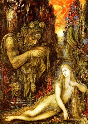 Moreau, Gustave Galatee end