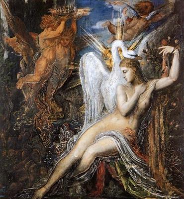Moreau, Gustave Leda end