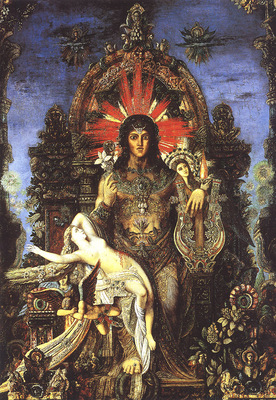 bs ahp Gustave Moreau Jupiter And Semele Detail